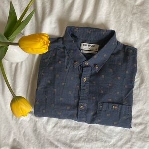 Billabong Drip Dry Tailored Fit Button Down